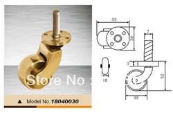 copper castors,copper furniture castor,brass castor(China (Mainland))