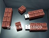 Free Shipping 30pcs/ lot Chocolate USB Stick Fast Speed
