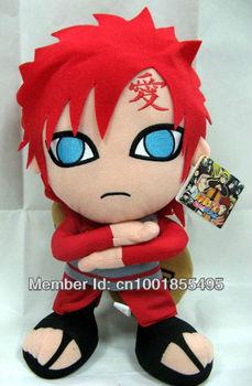 Naruto Gaara Plush Doll Toys Figure 12inches Stuffed Anime Manga Birthday Present Gift NAPL7325