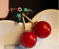 Free shipping wholesale Sweet cherry dust plug ,factory price
