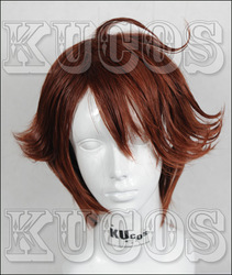 hot selling Volleyball wine brown style paragraph cos wig(China (Mainland))