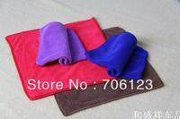 30cm*60cm multi-functional Microfiber Cleaning Cloth Towels kerchief Hair Hand and Car Towel 30PCS