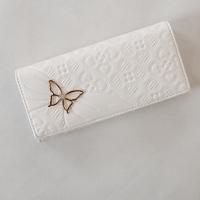 Wallet women's medium-long bag zipper coin pocket 2013 women's 26 white