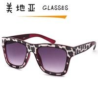Veneer sunglasses dapperly big box sun-shading mirror fashion decoration sunglasses