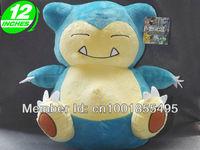 Pokemon Snorlax Plush Doll Toys Figure 12inches Stuffed Anime Manga Gift PNPL6068