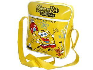 *Sunnyfair* New Sponge Bob Women Children PU Leather Handbag Messager Briefcase Shoulder Hand Bag Pink Black White free shipping