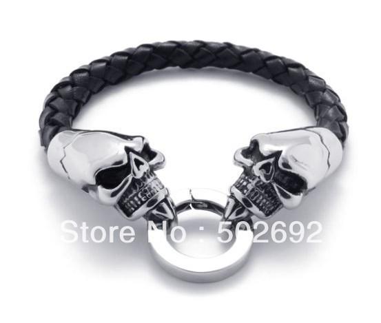 Skull Bracelet Singapore Steel Skull Bracelet in