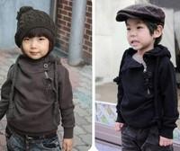 free shipping 5pcs/lot children baby casual fashion hoodies sweatshirt coat for boys girls baby wear clothing