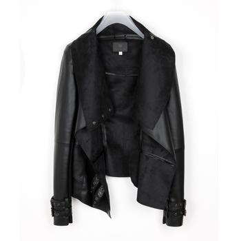 Fashion 2013 spring jacket women motorcycle short design slim PU women's leather clothing jacket outerwear coat lady