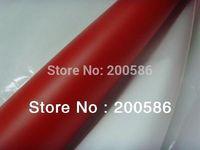 Car Body Sticker Matte Red Car Wrap Vinyl Film Bubble Free Self-Adhesive Sheet Free Shipping mrv30m