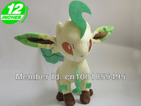 Pokemon Leafeon Plush Doll Toys Figure 12inches Stuffed Anime Manga Gift PNPL6080