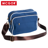 Mcgor preppy style male shoulder bag casual bag messenger bag student school bag small bag