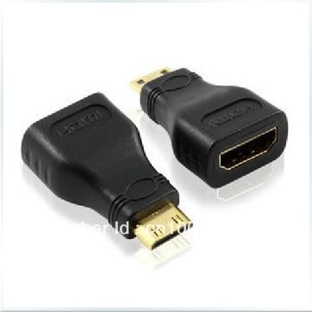 HDMI TO Mini HDMI female Converter HDMI Mini Plug Mini HDMI Plug,Dropshipping Free Shipping