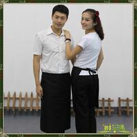 Work aprons home apron 2000501 black half length aprons! Free shipping!