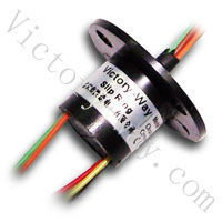 OD12.5mm,Length 13mm,6 ways 2A, Micro Capsule Slip ring