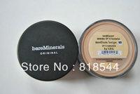 6PCS ,NEW!! (c10,N10,N20 )id bare Minerals Escentuals MEDIUM BEIGE FOUNDATION 8g ,EMS Free shipping