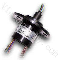OD22mm,12 ways 2A, Micro Capsule Slip ring VSR-SC12