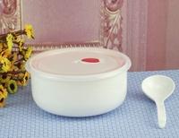 MIN ORDER $39 White bone china fresh bowl Large ceramic instant noodles bowl Large instant noodles china bowl microwave bowl