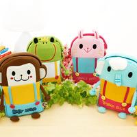 Free shipping Female child cartoon child messenger bag baby infant bags cartoon small messenger bag child bag backpack