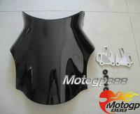2014 Time-limited Real Deflector Windshield Windscreen for Suzuki Gsx1400 Sv 650 1000 Bandit Gsf 1200 1250 Black
