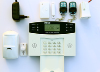 GSM SMS Home Burglar Security Alarm System Detector Sensor shop alarm security