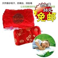 TONGTAI 931 3005 sistance festive baby silkworm sand pillow silks and satins silkworm excrement pillow child eyesight deodorant