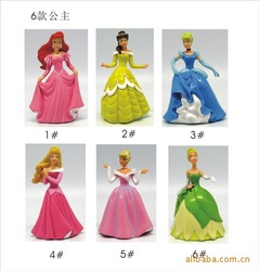 Free shipping Fairy Tinker bell Cartoon Figure Toy (6 pcs/set ) - Free shipping+Wholesale(China (Mainland))
