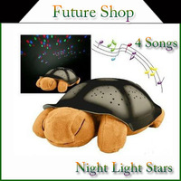 Songs Night Lights star for Children Music Lights Mini Projector 4 Colors Projector Lamp without retail box