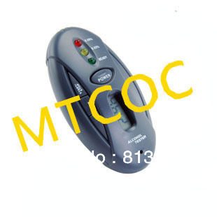 Alcohol tester     quality goods portable     breath alcohol content detector      with a flashlight with alarm clock