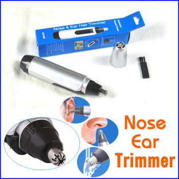 Hot Sell Cheap Electric Nose Ear Face Hair Trimmer Shaver Clipper Cleaner Free Shipping HT0375