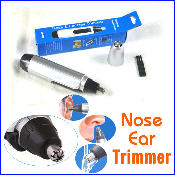 Hot Sell Cheap Electric Nose Ear Face Hair Trimmer Shaver Clipper Cleaner Free Shipping HT0375(China (Mainland))