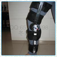 Rehabilitation care Adjustable orthosis belt kneepad fitted brace