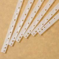 0.5 plastic gear rack transmission rod Remote Control Toy parts DIY Accessories