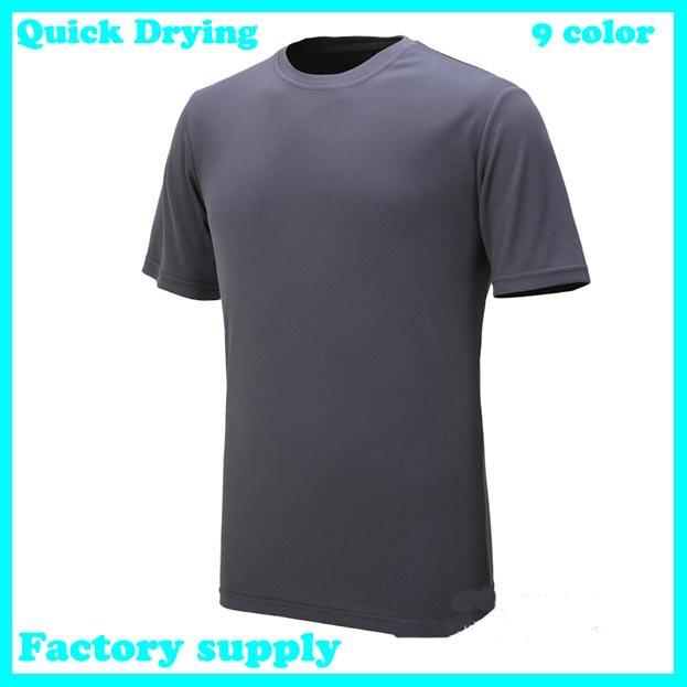 short sleeve Tee Shirt Slim Fit Tops cycling Sport Shirt men's t shirt ...