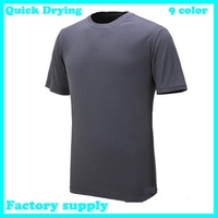 2013 summer new polular Designer Quick Drying Casual short sleeve men's T-Shirts Tee Shirt Slim Fit Tops cycling Sport Shirt