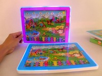 1PCS Kid Kids Educational Toys Y-Pad Farm Animal sound English Tablet Computer Learning Machine Touch Screen Ypad Y pad Toy