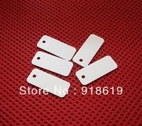 36MM*15MM 13.56MHz ISO 15693 RFID PVC Jewelry Tag   I.code Sli