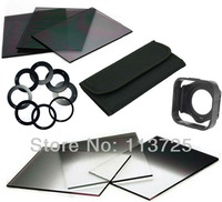 6pcs ND16 ND4 ND8 Gradual ND2 4 8 Filter Set + 9pcs Ring Adapter  49mm 52mm 67mm 72mm 77mm for Cokin P