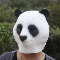 FREE SHIPPING!!!High-grade party hood, panda mask, animal mask, environmental protection latex, harmless to the human body