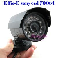 free shipping new  Effio-E Sony CCD  700TVL  24 IR  security camera CCTV Camera