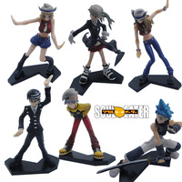 6x Soul Eater Death.The.Kid PVC Figure   c250