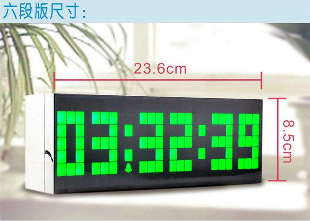 Led font b digital b font clock wall font b desktop b font multi