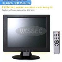 10.4 inch TFT LCD 4:3 Screen VGA/AV/ Input Monitor with Analog TV