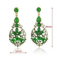 Free shipping Vintage Bohemia Drop Earrings Fashion Jewelry Wholesale Qulity Guaranteed V-E1200