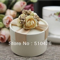 European wedding creative wedding candy box wedding sugar box finished Gift free shipping
