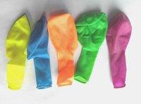 Fluorescent balloons, Round balloons