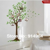 Free shipping parlour bedroom decoration Sofa TV background can remove Wall sticker Picture tree