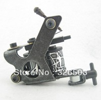 One General Beginner 8 Wrap Coils Tattoo Machine Gun For Kit Power Supply STG-H05