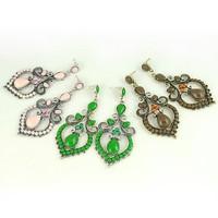 Free shipping Vintage Bohemia Drop Earrings Fashion Jewelry Wholesale Qulity Guaranteed V-E1201