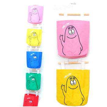 Hot oxford fabric colorful storage bag cartoon storage bag storage bag Free shipping (10 pieces/lot)
